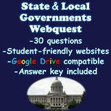 State and Local Governments Webquest