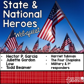 State and National Heroes [Web Quest]