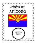 State of Arizona (Arizona State) Activity Pack