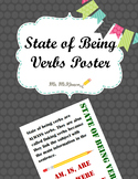 State of Being Verbs Poster