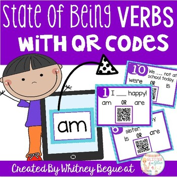State of Being Verbs With QR Codes