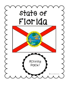 State of Florida (Florida State) Activity Pack