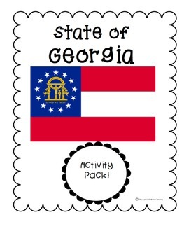 State of Georgia (Georgia State) Activity Pack