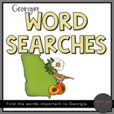 State of Georgia Word Searches