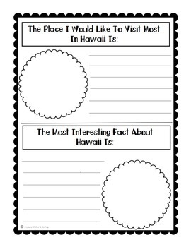 State of Hawaii (Hawaii State) Activity Pack