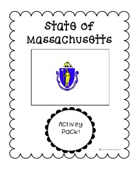 State of Massachusetts (Massachusetts State) Activity Pack