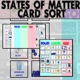 State of Matter Digital Card Sort for Powerpoint - Digital