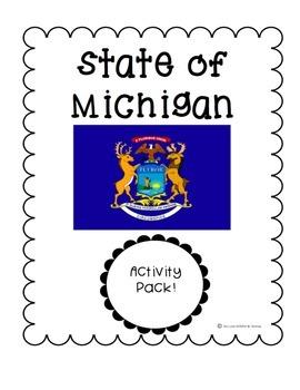 State of Michigan (Michigan State) Activity Pack