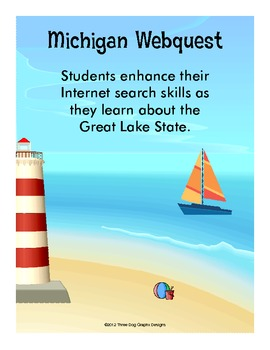 Michigan Webquest Internet Scavenger Hunt