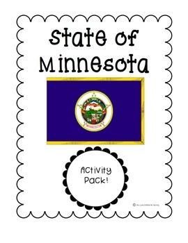 State of Minnesota (Minnesota State) Activity Pack