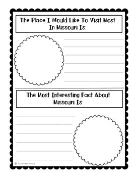 State of Missouri (Missouri State) Activity Pack