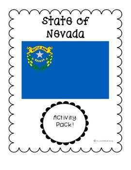 State of Nevada Activity Pack (Nevada State)