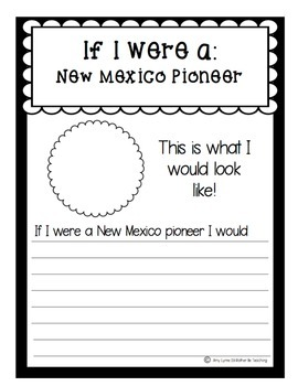 State of New Mexico (New Mexico State) Activity Pack