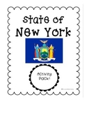 State of New York (New York State) Activity Pack