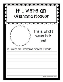 State of Oklahoma (Oklahoma State) Activity Pack