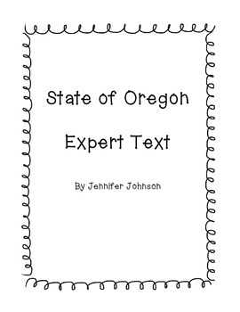 State of Oregon Expert Text