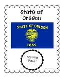 State of Oregon (Oregon State) Activity Pack