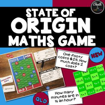 State of Origin Maths Game