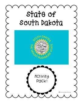 State of South Dakota (South Dakota State) Activity Pack