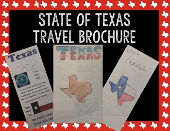 State of Texas Travel Brochure || Texas History