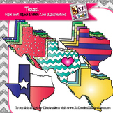 State of Texas clip art