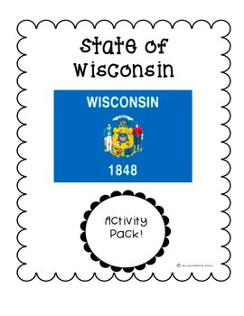 State of Wisconsin (Wisconsin State) Activity Pack
