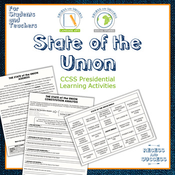 State of the Union Address Learning Activities