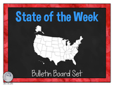 State of the Week Bulletin Board Set