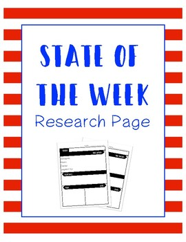 State of the Week Research Page