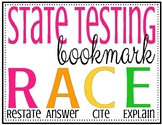 State testing student bookmarks R.A.C.E. strategy