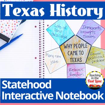 Texas' Statehood Notebook Kit