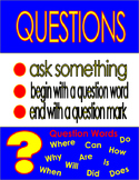 Statement and Question Anchor Charts