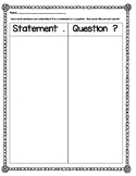 Statement and Question Grammar Sort