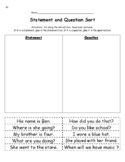 Statement and Question Sort #2