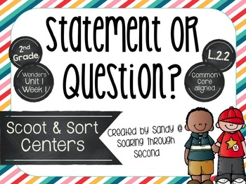 Types of Sentences: Statement or Question Center