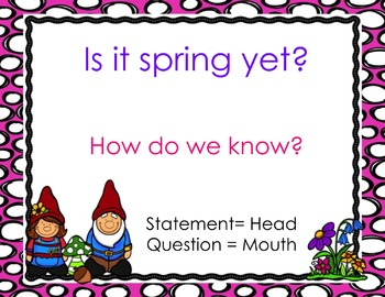 Statements and Questions PowerPoint