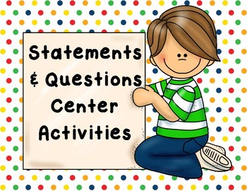 Statements and Questions Pack