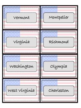 States-Capitals-Abbreviations 4 Games