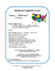 States and Capitals Game | Grade 5 Practice | 50 Task Cards | I have... Who has?