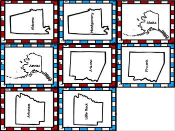 States & Capitals Game Bundle