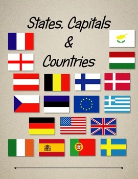 States, Capitals and Countries