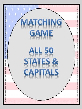States & Capitals_Matching Game