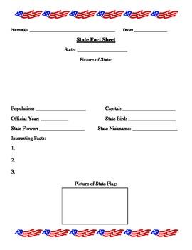 States Fact Sheet