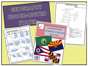 No Prep - States Geography Find