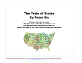 States Matching Game based on the book Train of States by
