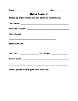 States Research