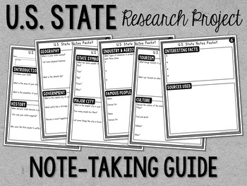 States Guided Research Project