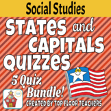 States and Capital Quiz Bundle