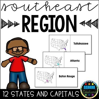 States and Capital Southeast Region Flashcards