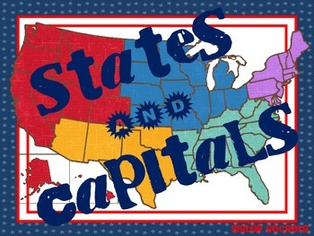 States and Capitals: Hands-on Research and Fun